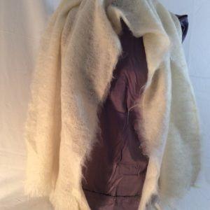 Luxurious off white shawl